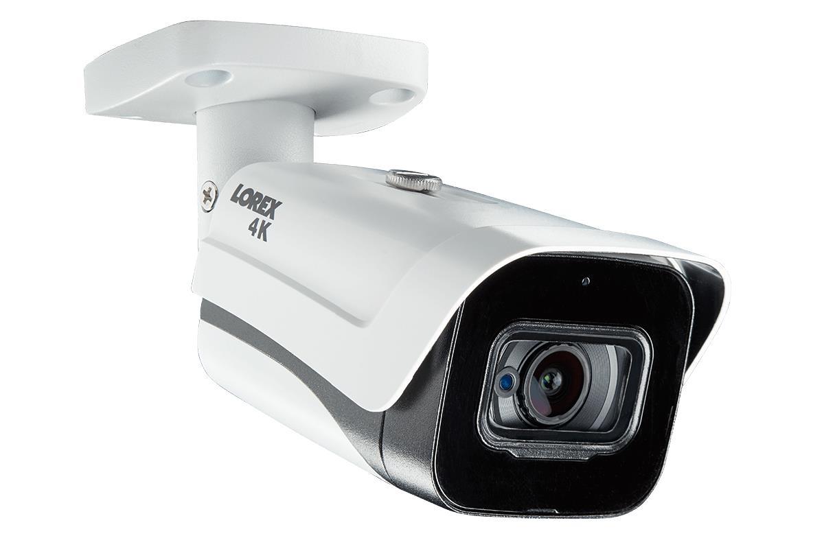 Lorex LND4751AB Mini Audio HD IP 2K Metal Dome Security Camera