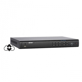 FLIR Digimerge M42080 Security MPX Over Coax DVR, 8 Channel, 2 HDD Slot, Max 8TB, Supports 720p/1080p/960H resolutions, Runs 960H HD-CVI, Analog and up to 1080p Lorex and Flir MPX Cameras, Flir Cloud App, Black, No HDD