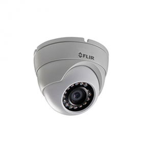 FLIR Digimerge C133EDR Outdoor Security Dome Camera, 2.1MP HD MPX  Fixed ,3.6mm, 70ft Night Vision, Works with Lorex, Flir MPX DVR, White (USED)