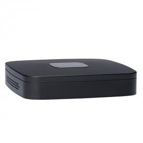 FLIR Digimerge DNR118P0 Series HD Security NVR, 8 Channel, 8 PoE Port, 1 HDD Slot, Max 4TB, Supports 720p/1080p/3MP/4MP/2K Flir, Lorex, Dahua, and Onvif IP Cameras, Black, NO HDD (USED)