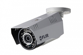 FLIR Digimerge C233BC Outdoor 4-in-1 Security Bullet Camera, 1.3MP HD Fixed WDR MPX, 3.6mm, 70ft Night Vision, Works with AHD/CVI/TVI/CVBS/Lorex, Flir MPX DVR, White, Camera Only (USED)