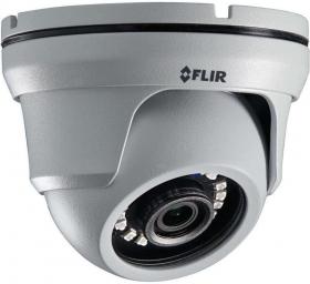 Flir C243EW2 2.1MP 1080p MPX Fixed Eyeball Dome MPX Multi-format Camera NTSC, 2.8mm lens, 82ft / 25m IR, Camera Only, White (OPEN BOX)