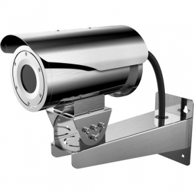 Hikvision DS-2TD2466 50MM Anti-Corrosion Thermal Network Bullet Camera, Smart Function (Thermal Imaging), Outdoor Stainless Steel, 640x512 Thermal Resolution