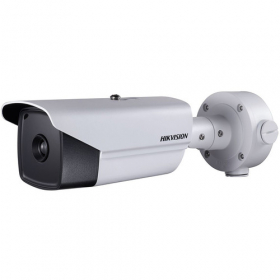 Hikvision DS-2TD2166T 25MM Thermal Network Bullet Camera, Outdoor, PoE, 640x512 Thermal Resolution, Audio, Smart Function (Thermal Imaging), Temperature Accuracy, Fire Detection