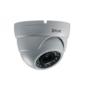 FLIR Digimerge C134ED Outdoor 4-in-1 Security Eyeball Dome Camera, 2.1MP HD Varifocal MPX,2.8-12mm, Manual Zoom, 90ft Night Vision, Works with AHD/CVI/TVI/CVBS/Lorex, Flir MPX DVR, White (Camera Only)