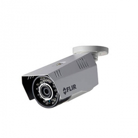 Flir Digimerge C233BD Outdoor Weatherproof 4-in-1 Security Bullet Camera, 2.1 MP HD MPX WDR Camera, 3.6mm, 70ft Night Vision, Works with AHD/CVI/TVI/CVBS/Lorex, Flir MPX DVR, Camera Only, White (OPEN BOX)
