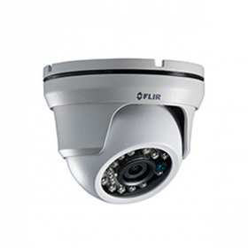 FLIR Digimerge C233EC Outdoor 4-in-1 Security Dome Camera, 1.3MP HD MPX Eyeball , 3.6mm, 70ft Night Vision, Works with AHD/CVI/TVI/CVBS/Lorex, Flir MPX DVR  (Camera Only)