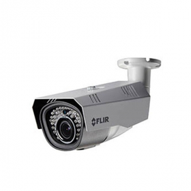 FLIR Digimerge C237BD1 Outdoor 4-in-1 Security Bullet Camera, 2.1 MP HD MPX WDR, 6-22mm, Motorized Zoom Lens, 115ft Night Vision, Works with AHD/CVI/TVI/CVBS/Lorex, Flir MPX DVR, White
