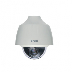 FLIR Digimerge C336ZC1 Outdoor 4-in-1 Security Dome Camera, 1MP HD 12X PTZ MPX, 5-61mm, Works with AHD/CVI/TVI/CVBS/Lorex, Flir MPX DVR, White (Camera Only)