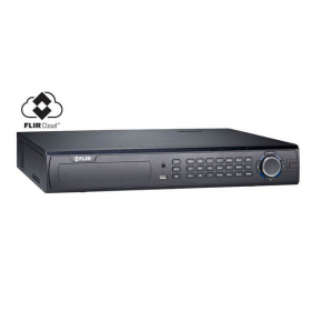 FLIR Digimerge DNR532 Series HD Security NVR, 32 Channel, 16 PoE Port, 4 HDD Slot, Max 16TB, Supports 720p/1080p/3MP/4MP/2K/5MP Flir, Lorex, and Onvif IP Cameras, Flir Cloud App,Rack Mount, Black
