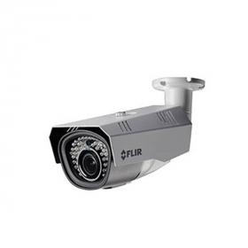 Flir Digimerge C234BC Outdoor 4-in-1 Security Bullet Camera, 720p MPX WDR Camera, 2.8-12mm, Manual Zoom, 115ft Night Vision, Works with AHD/CVI/TVI/CVBS/Lorex, Flir MPX DVR, White (Camera Only)