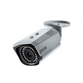 FLIR Digimerge N237BE Outdoor IP Security Bullet Camera, 3MP HD IP Camera, 2.8-12mm, DWDR, Motorized Zoom Lens, 90ft Night Vision, Works with Onvif, Lorex, Flir NVR, White (Camera Only)