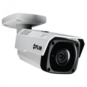 FLIR Digimerge N243BW4 Outdoor IP Security Bullet Camera, 4MP Quad HD IP Camera, True WDR, 3.6mm Lens, 90ft Night Vision, Works with Onvif, Lorex, Flir NVR, White (Camera Only)