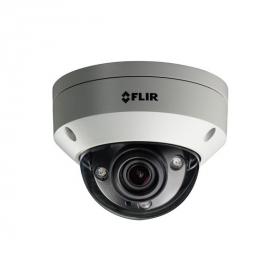 FLIR N347VW4 Quad HD Motorized WDR Vandal Dome Camera,2.7-12mm Motorized Varifocal,130ft Night Vision,Tamper Detection,  White