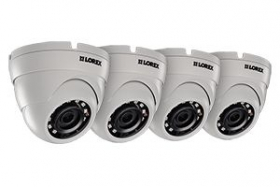 4MP High Definition IP Camera with Color Night Vision (4-pack)