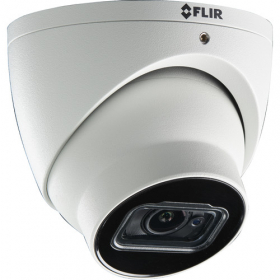 FLIR Digimerge ME373A Outdoor 4-in-1 Security Dome Camera, 4K Ultra HD WDR Fixed Audio Dome, 3.6mm, 100ft Night Vision, Works with AHD/CVI/TVI/CVBS/Lorex, Flir MPX DVR, White (Camera Only)