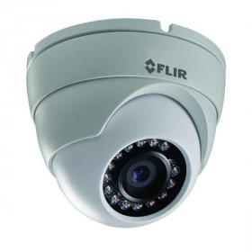 FLIR Digimerge N133ED Outdoor IP Security Dome Camera, 2.1MP HD IP Camera, 3.6mm, DWDR, 65ft Night Vision, Works with Onvif, Lorex, Flir NVR,Camera Only, White (M.Refurbished)