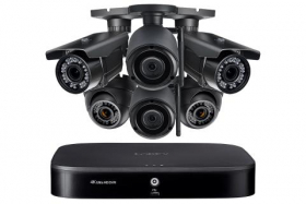 Flexible Security System with 4K DVR, 2 Wireless and 4 Motorized Varifocal 1080p HD Cameras