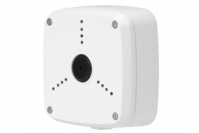 Outdoor Junction Box for 3 Screw Base Cameras (White)