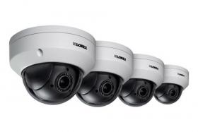 Super High Definition 2K (4MP) Pan-Tilt-Zoom Camera & Color Night Vision (4 Pack)