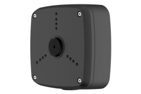 Outdoor Junction Box for 3 Screw Base Cameras (Black)