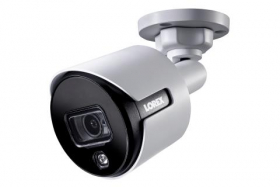 Lorex LBV8543XW 4K Ultra HD Active Deterrence Security Bullet Camera,Weatherproof (rated IP67), Motion Activated Lights,150FT Night Vision,CNV (Open Box)