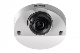 Lorex LEV2750AB Analog HD MPX 1080p Dome Security Camera with Audio 90ft Night Vision, White (OPEN BOX)