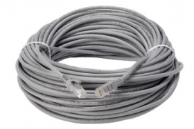 Lorex CBL60C5RU-W 60FT CAT5e Extension Cable, Fire Resistant and In-Wall Rated, CMR Type-Riser, (5-Pack)