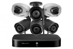 Lorex LW1642W Outdoor Surveillance System with 2 HD 1080p Cameras and 4 HD 1080p Wireless Cameras