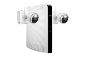 Lorex L222A8E-2CM-E 1080p HD Wire-Free Security System with 2 Battery-Operated Active Deterrence Cameras and Person Detection