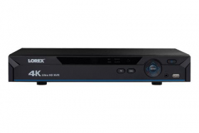 4K NVR with 8 Channels and Lorex Cloud Remote Connectivity