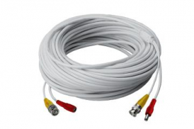 60FT high performance BNC Video/Power Cable for Lorex security camera systems