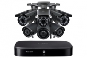 Lorex LW1633VW 1080p HD Home Security Camera System with 3 Wireless and 3 Varifocal Zoom Lens Security Cameras