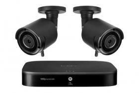 Lorex LW42W 8-Channel System with 2 Wireless Security Cameras