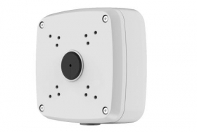 Outdoor Junction Box for 4 Screw Base Cameras (White)