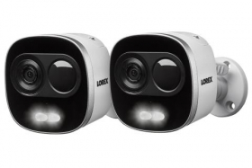 4K Active Deterrence Network Security Camera (2-pack)