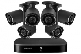 Lorex LW1684UW 1080p Full HD 8-Channel System with 6 Wireless Security Cameras with audio