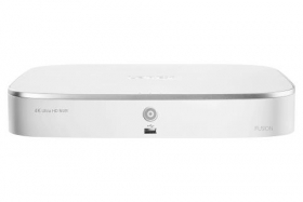 Lorex N841A81-W 4K 8-Channel Network Video Recorder with 1TB Storage, Smart Motion Detection, Voice Control and Fusion Capabilities