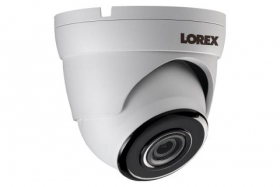 Lorex LAE223-Series LAE223 Indoor/Outdoor 1080p HD Analog Security Dome Camera, 3.6mm, 130ft IR Night Vision, Works with LHA2000, LHA4000 Series DVR, ACJNCR3B, White