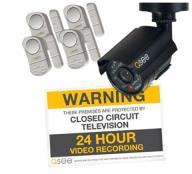 Decoy Cameras (2PK) and Warning Sign (Retail)