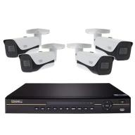 8 Channel 4K NVR System with (6) 4K Bullet Cameras and 4TB HDD