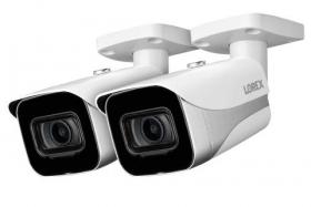Lorex E861AB-2PK 4K Ultra HD Smart IP Security Camera (2-Pack)