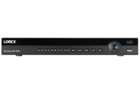Lorex NR9080XCL Series 8 Channel 4K Ultra HD IP Security System Network Video Recorder (NVR) with Lorex Cloud Connectivity, Black, NO HDD Preinstalled